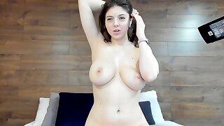 Tremendous knockers russian sightless babe teasing - Big ass