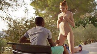 18 Fit German Ginger Teen Interracial Sex