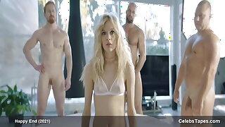 Teen celebs - Lena Tronina, nude, go-go stripping for webcam