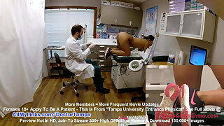 Sexy Latina Melany Lopez Gets Gyno Cross-examination Wits Doctor Tampa On Listen in Cam