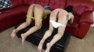 Spanked Hard by My Best Friend