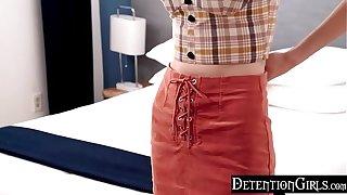 DetentionGirls - Noisome Boning Her Step Bro On Camera S1:E10