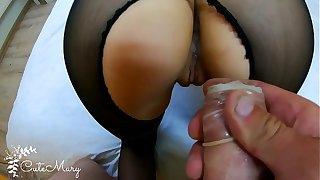 CHEATING Fit together STRANGER TAKES CONDOM OFF AND GETS ACCIDENTAL CREAMPIE