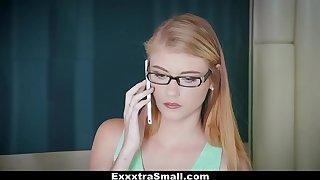 ExxxtraSmall - Tiny Secretary Fucked By Her Boss