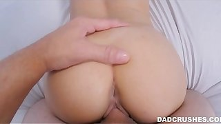 Stepdaughter Lets Dad Cum Inside Will not hear of
