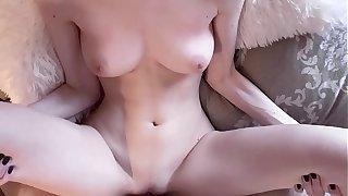 Teen caught her neighbor spying on her masturbating, amateur pov - Shinaryen