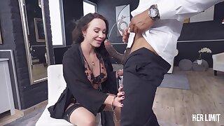 Fulminous hussy Alysa Gap crazy interracial lovemaking