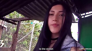 MAMACITAZ - #Lola Puentes - Brunette Latina Smashed Into Big Facial