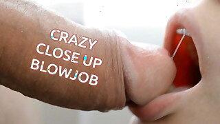 Inane CLOSE-UP BLOWJOB
