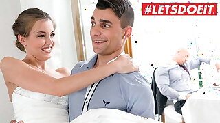 KINKY INLAWS Sexy Bride Cindy Shine Hot Distraction With Stepbrother