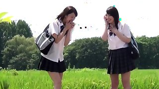 Japanese minority peeing